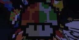 Pixel art - The Mushroom! :D (Split) Minecraft Blog