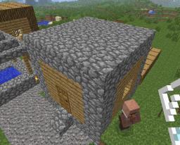 NPC village Syle 2: Secondary house Minecraft