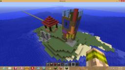 Tiki Isle Minecraft Map & Project