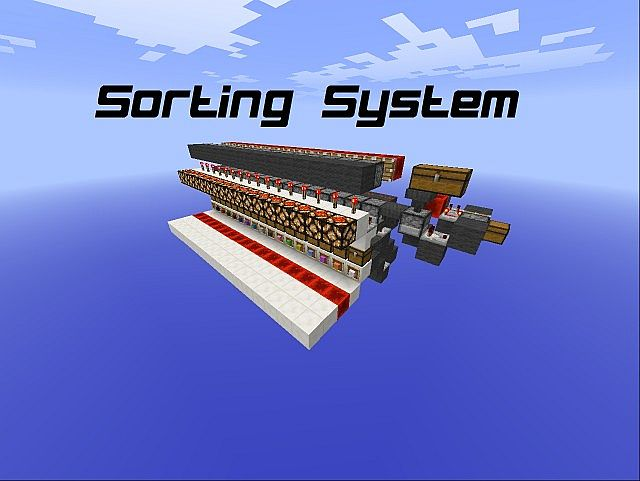 Sorting System Minecraft Project