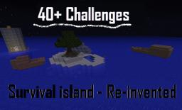 Survival island - With a story, 40+ challenges and a business! Minecraft