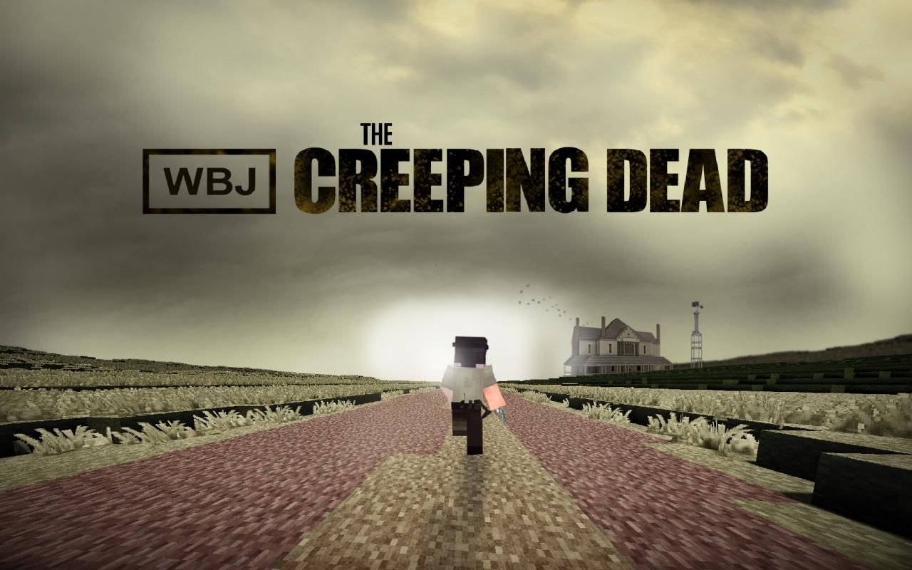 The creeping dead walking dead poster minecraft blog the creeping dead walking dead poster voltagebd Gallery