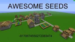 AWESOME SEED! Minecraft Map & Project