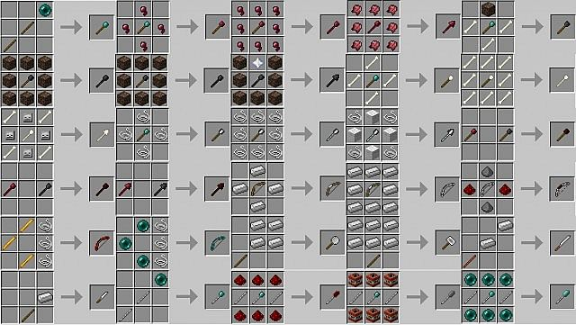 minecraft pe crafting guide pdf