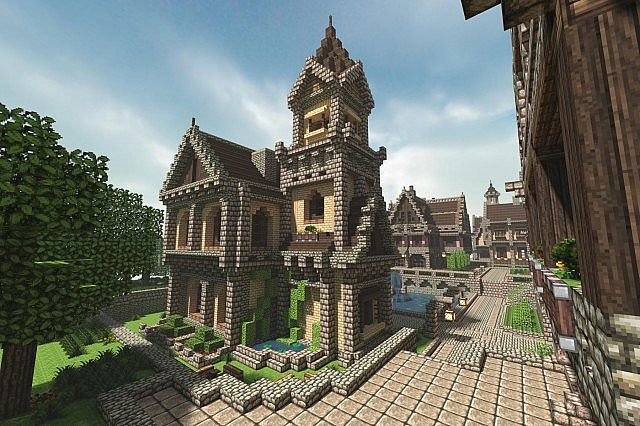V renshamn a 17th 19th century themed city minecraft project - Cool themed houses ...