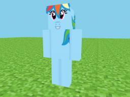 Rainbow dash - HD Skin Minecraft Blog