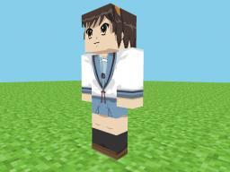 Haruhi Suzumiya - HD Skin Minecraft Blog Post