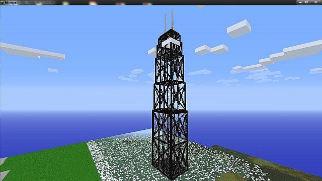 John Hancock Center Chicago Minecraft Project