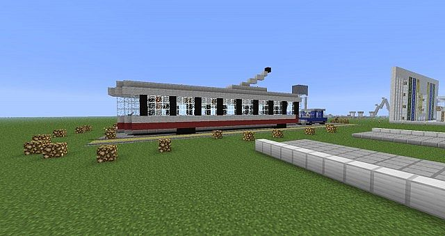 how to build a van on minecraft