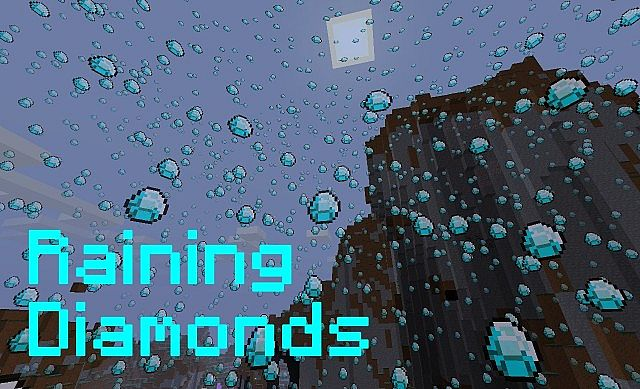 Raining Diamonds 1 4 7 Minecraft Texture Pack
