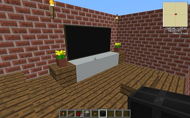 redstone basement door minecraft project