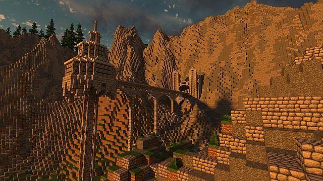 Map Islande Minecraft