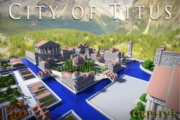 Titus - Huge Roman City 2000 x 2000 Minecraft Map & Project