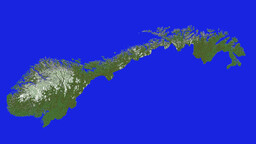 The Entire Norway (1:100) Minecraft Map & Project