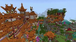 Asian Roofs 2 Minecraft Map & Project