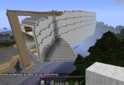 Massive Spaceship / Starcruiser / Thingy Minecraft Map & Project
