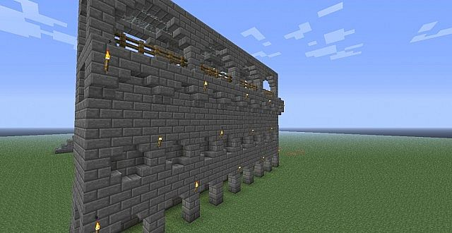 Best Castle Wall Design Minecraft Medieval Building Style