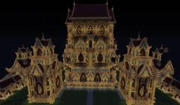 Pagoda of 1001 Nights 1.8 Minecraft Map & Project