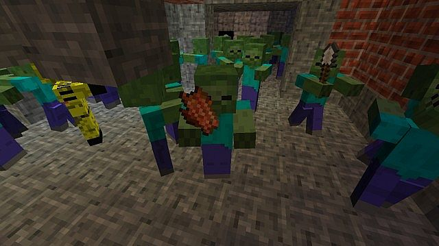Rise Black Ops 2 Zombies Minecraft Project