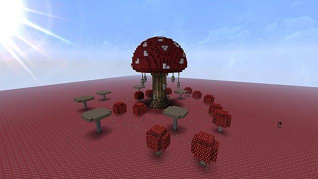 Giant Mushroom House Skyrim