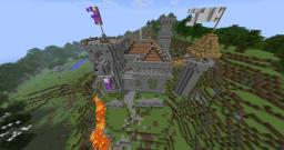 Minecraft Marathon's MarcWar Castle Map Minecraft Project