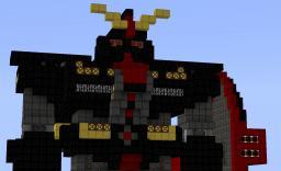 1/1 BLOCK GRADE UNIVERSAL CENTURY Psyco Gundam Minecraft Map & Project