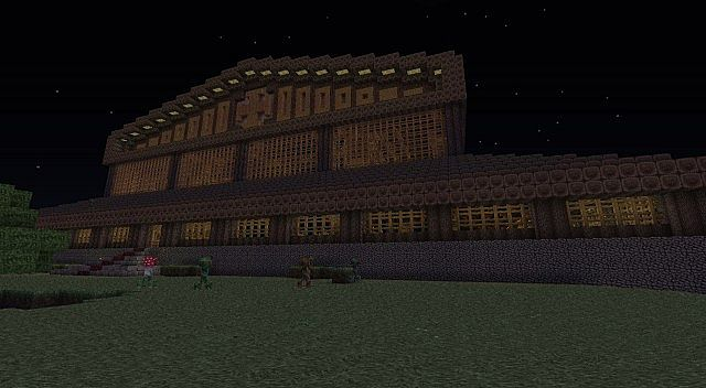 Viking Hall Minecraft Project