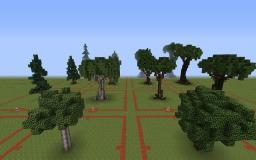 The Evil Sketch's Custom Trees Minecraft Map & Project