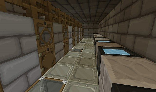Stonebrick High Security Military Prison Minecraft Project