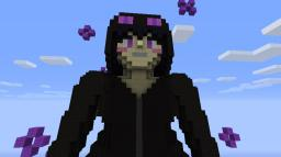 Endergirl Statue Minecraft Project
