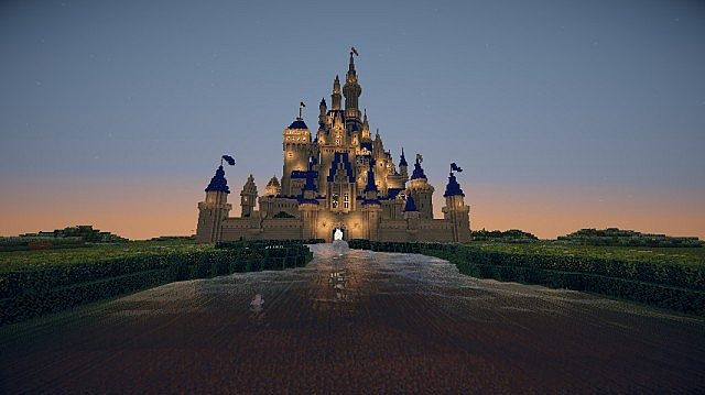 Disney Castle Intro Minecraft Project
