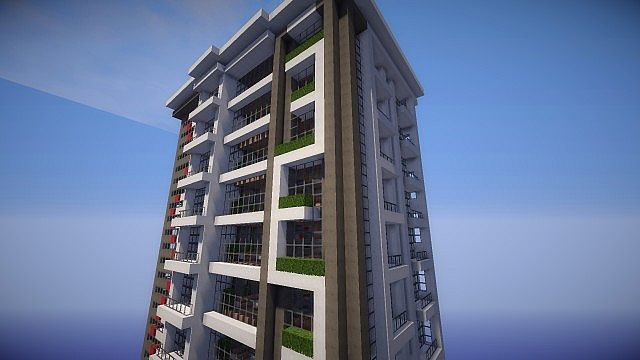 Luxury Apartments Minecraft Project
