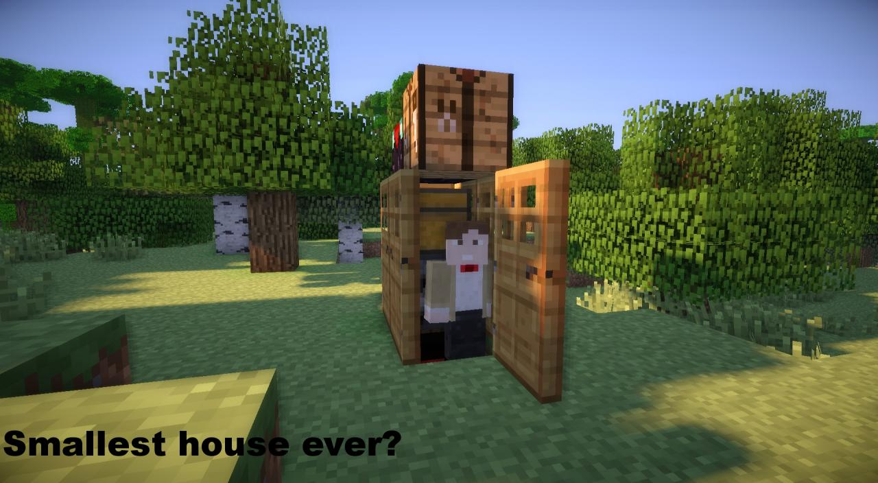 smallest house ever minecraft project - Smallest House In The World Minecraft