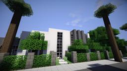 Greenfield Project - Modern Mansion Minecraft Map & Project