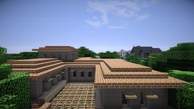 Greenfield Project Italian Villa Minecraft Project