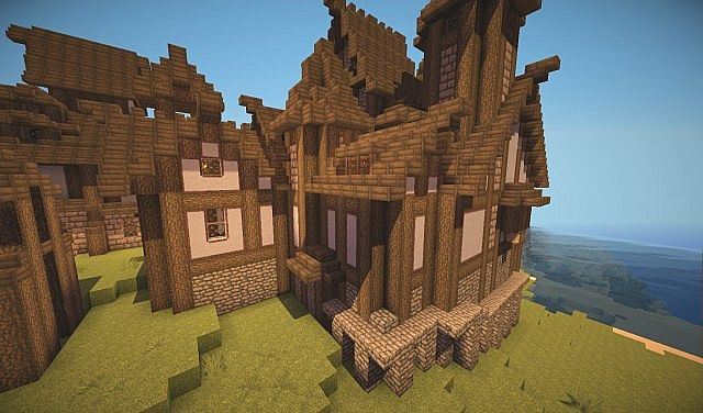 Medieval Imperial Army Base Minecraft Project