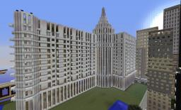 Large hotel Minecraft Project