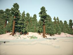 WinterLand-Custom terrain Minecraft Project