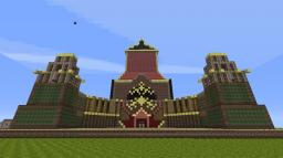 Avatar Fire Nation Palace Minecraft Map & Project