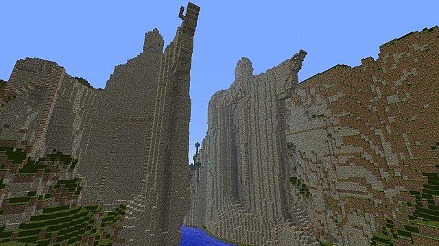 argonath minecraft map