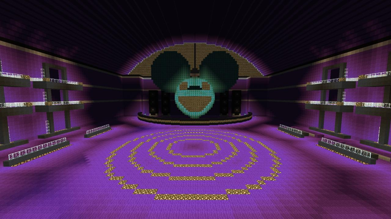 deadmau5 disco room minecraft project