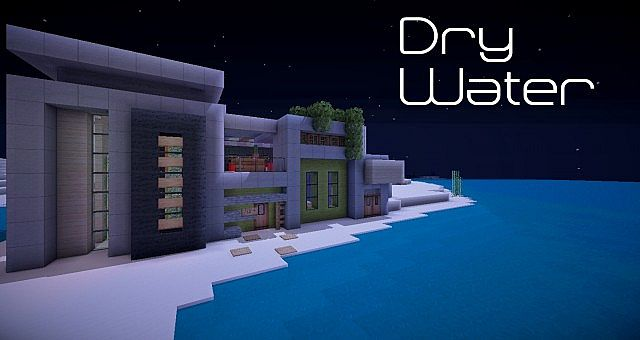 Dry Water A Modern Build Minecraft Project