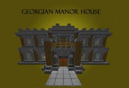 Georgian Manor House Minecraft Map & Project
