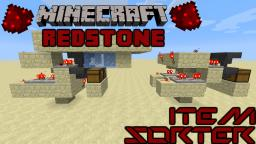 Tileable Item Sorter Minecraft Map & Project