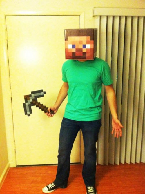 minecraft steve outfit