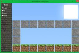 Minecraft Block Building Game ( Can Build Higher) Minecraft Mod