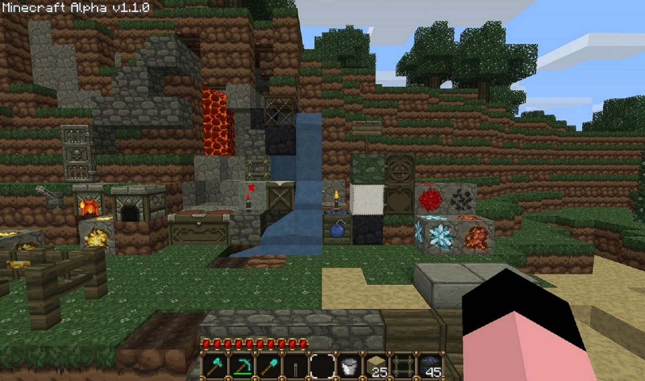 Texture Packs and the Internet! Minecraft Blog