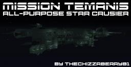 Mission Temanis - All-Purpose Star Cruiser Minecraft Map & Project
