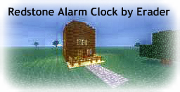 Redstone Alarm Clock Minecraft Map & Project