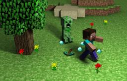 My 1st Actual blog/ story Minecraft Blog